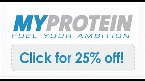 bon de réduction myprotein