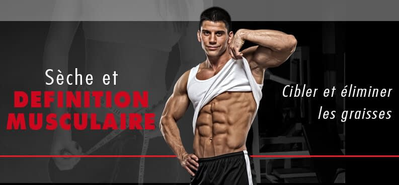 seche définition musulaire myprotein